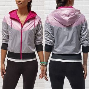 Nike Free Spin Windrunner 3/4 Sleeve Running Sz XL